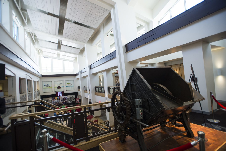 smucker installed ceilings in museum